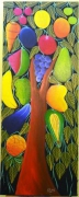 tableau fruits tableau art naif haiti fruits peinture art naif : Arbre � Fruits